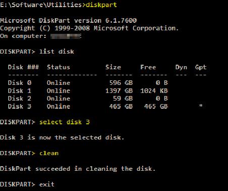 diskpart-commands