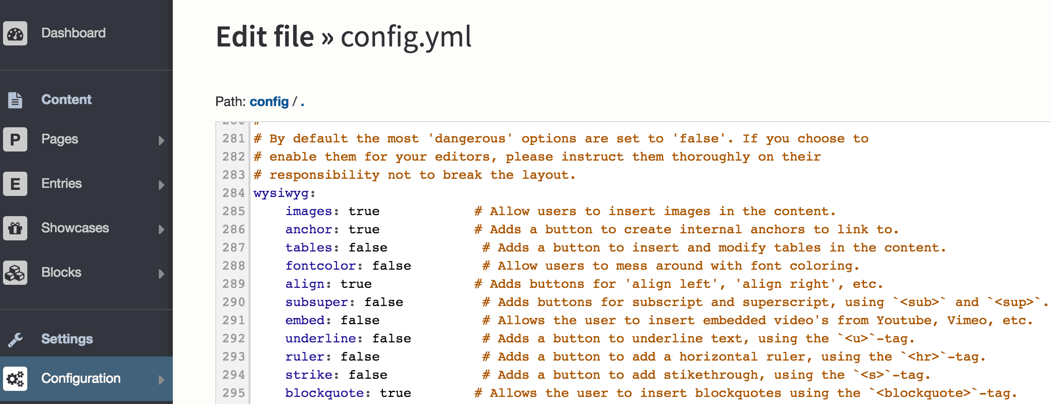 bolt_config